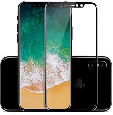 Richuzers Edge To Edge Tempered Glass for Apple iPhone XR -Genuine 9H Shield Glass(Pack of 2)