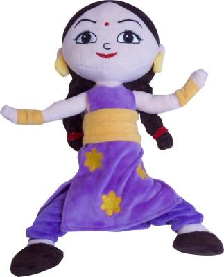 CHHOTA BHEEM Kung Fu Dhamaka Chutki Action Plush Toy   33 cm Multicolor CHHOTA BHEEM Soft Toys