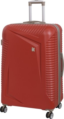 IT Luggage Outlook Expandable Check in Luggage   29 inch Red