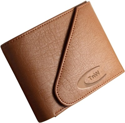 TnW Men Casual Brown Artificial Leather Wallet