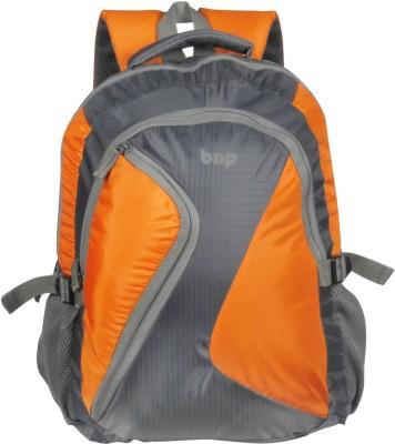 BAGS N PACKS Casual 25 L Laptop Backpack Orange, Grey BAGS N PACKS Backpacks