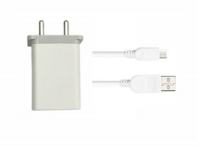 OPPO Wall Charger Accessory Combo for Hi Speed Original Charger Oppo F1s / F3/Plus, F5/Youth, F7, A83, A37f, A37, A71, A57 Like Original Charger Best Seller Garg Associates(White)