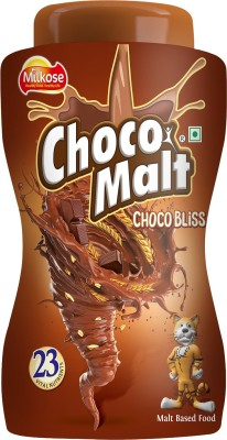 CHOCOMALT Milkose Choco Malt Choco Bliss Jar 500g(500 g) at flipkart