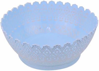 AVMART Blue Multi-Function Vegetable Fruit Utensils/Cutlery Basket (26x12 cm) Plastic Fruit & Vegetable Basket(Blue) at flipkart