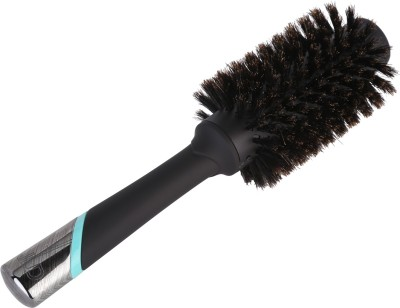 Jean Louis David (France) Blow Drying Round Boar Bristle Hair Brush for Thin Hair