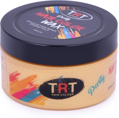 TRT PARTY HAIR COLOR [{(Gold color)}] Hair Cream(70 ml)
