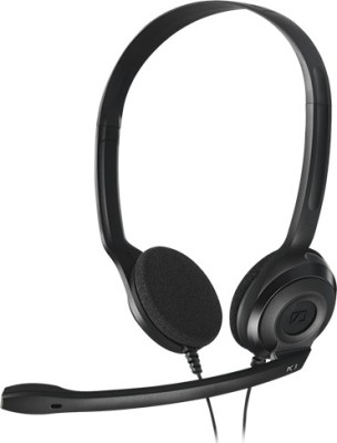 Sennheiser PC 8 USB Wired Headset with Mic(Black, On the Ear)