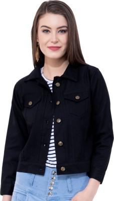 MONTREZ 3/4th Sleeve Solid Women Jacket