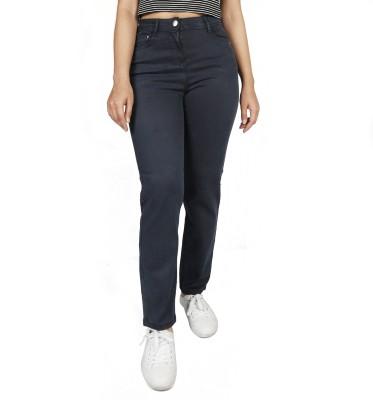 Timbre Regular Women Dark Blue Jeans