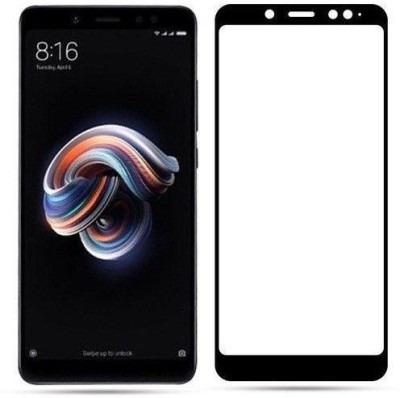 PRIME RETAIL Edge To Edge Tempered Glass for Redmi Note 5 Pro Full Glue Curved Glass(Pack of 2)