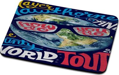 RADANYA World Mouse Pad 27254 Mousepad(Multicolor)