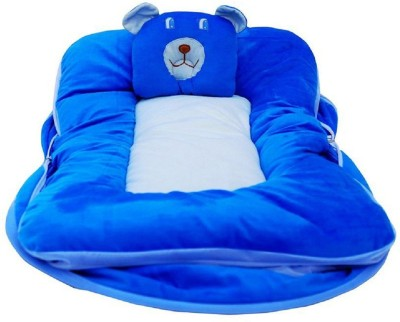 Samaaya Polycotton Bedding Set(Blue)