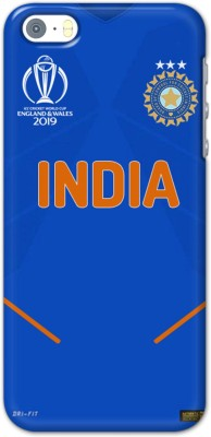 Lazy Dreamers Back Cover for Apple Iphone SE Team India World Cup Jersey 2019(Multicolor, 3D Case)