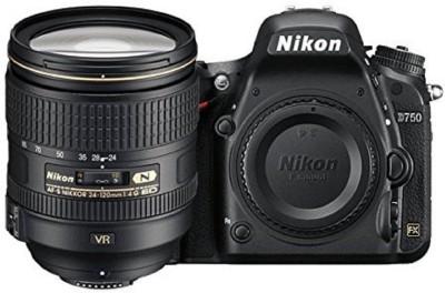 Nikon D750 DSLR Camera Body with Single Lens: 24 120mm VR Lens