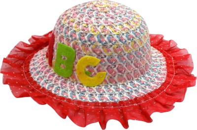 GLAN Comfortable Baby Hat for Summer Beach Party(Multicolor, Pack of 1)