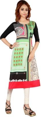Niva Fashion Casual Printed Women Kurti(Multicolor)