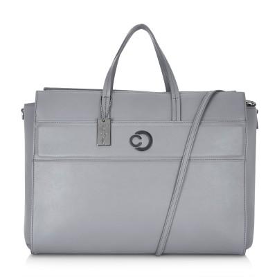 Caprese 13 inch inch Laptop Messenger Bag(Grey)