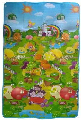 Right Products Cotton Baby Play Mat(Multicolor, Small)