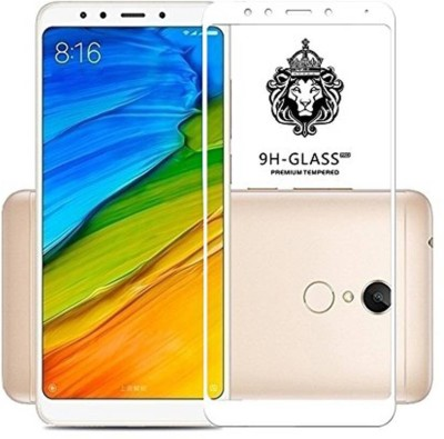 Express Buy Edge To Edge Tempered Glass for Redmi Note 5 (5D Full Glue tempered Glass) White(Pack of 1)