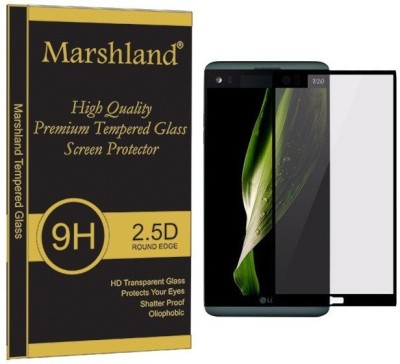 Marshland Tempered Glass Guard for LG V20, 9H Hardness Bubble-Free 0.33mm Thickness Oleo Phobic Coating Anti Scratch, Crystal Clear 99% Transparency(Pack of 1)