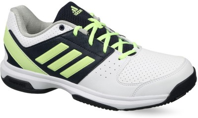 3acabbd41 Flipkart. ADIDAS TENNIS HASE SHOES Tennis Shoes For Men(White, Yellow) best  price on