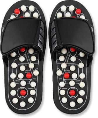 casela Accupressure Yoga Foot Mat Full Body Relaxer Natural Leg Foot Massager Slippers at flipkart