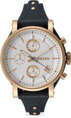 Fossil ES3838 OBF Analog Watch - For Women