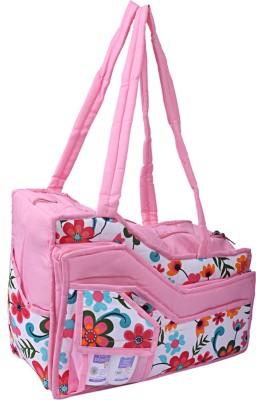 Kuber Industries   diaper bag Pink