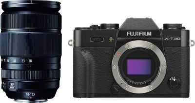 Fujifilm X Series X-T30 Mirrorless Camera Body with 18 - 135 mm...