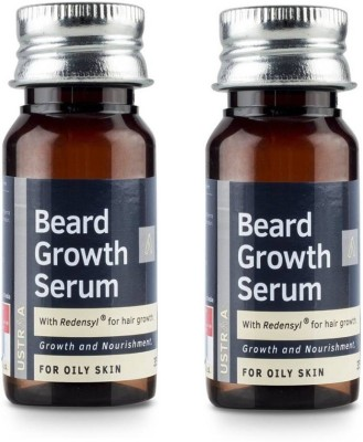 Ustraa By Happily Unmarried Beard Growth Serum (For Oily Skin) (35 ml) Pack of 2(35 ml)