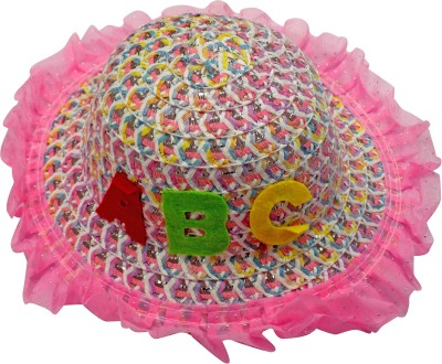 GLAN Kid Summer Hat for Party and Casual Use(Multicolor, Pack of 1)