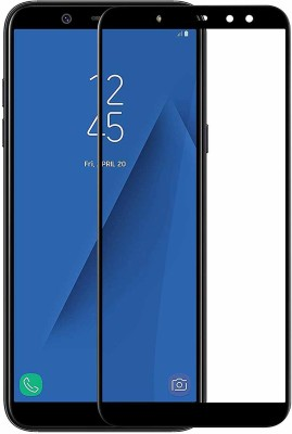 celwark Edge To Edge Tempered Glass for Samsung Galaxy A6 Plus(Pack of 1)