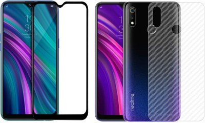 Karpine Front and Back Screen Guard for Realme 3(Pack of 1)