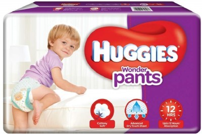 Huggies Wonder Pants Diapers, Extra Large  Pack of 38    XL