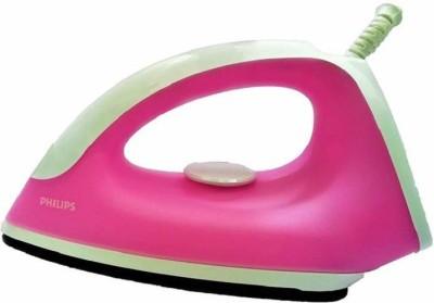 PHILIPS Classic Non-Stick 750W GC091/40 750 W Dry Iron(White, Pink)