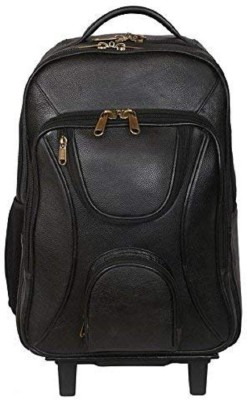 PARE 15 inch Inch Trolley Laptop Backpack Black