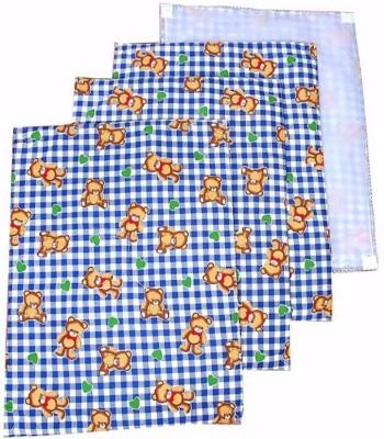 ALEMKIP Cotton Baby Sleeping Mat(Blue, Small)