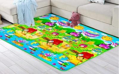 Dayalu PVC (Polyvinyl Chloride) Baby Play Mat(Multicolor, Large)