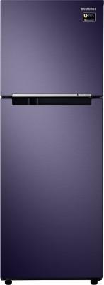 Samsung 253 L Frost Free Double Door 3 Star  2019  Refrigerator