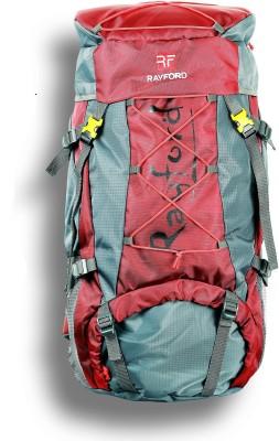 Rayford Waterproof Hiking Bags | Riders Trekking Bags Rucksack  - 75 L(Maroon)