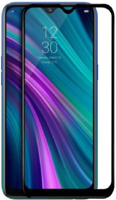 CASEHUNT Edge To Edge Tempered Glass for Realme 3 Pro(Pack of 1)