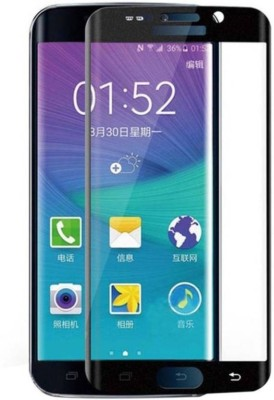 BlackBug Tempered Glass Guard for Samsung Galaxy S6 edge plus (Black)(Pack of 1)