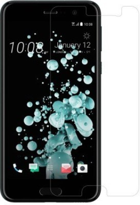 A-Allin1 Tempered Glass Guard for HTC Desire U Play(Pack of 1)