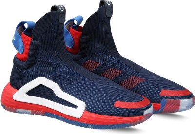 ADIDAS N3XT L3V3L SS 19 Basketball Shoes For Men(Blue) at flipkart