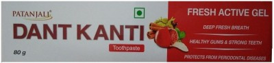Patanjali Dant Kanti Fresh Active Gel - 80 g (Pack of 1) Toothpaste(80 g)
