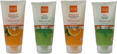 VLCC Orange Oil Pore Cleansing & Tulsi Acne Clear Facewash