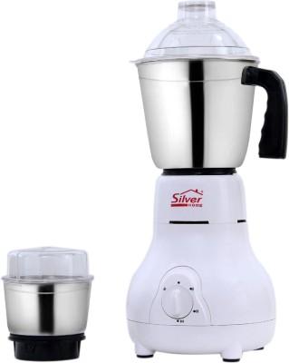 Silver home MATKA01 450 Mixer Grinder(White, 2 Jars)