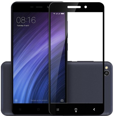 Trenmar Edge To Edge Tempered Glass for Mi Redmi 4A(Pack of 1)