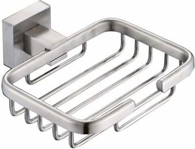 Ever Mall Aluminium Soap Stand Holder Functional Bathroom(Silver)