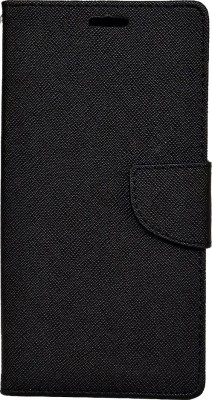 Avzax Flip Cover for Swipe Elite 4G(Black, Dual Protection)